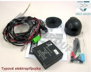 Elektropřípojka tažného zařízení